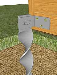 bodenanker zum einschlagen kein beton erforderlich. Black Bedroom Furniture Sets. Home Design Ideas